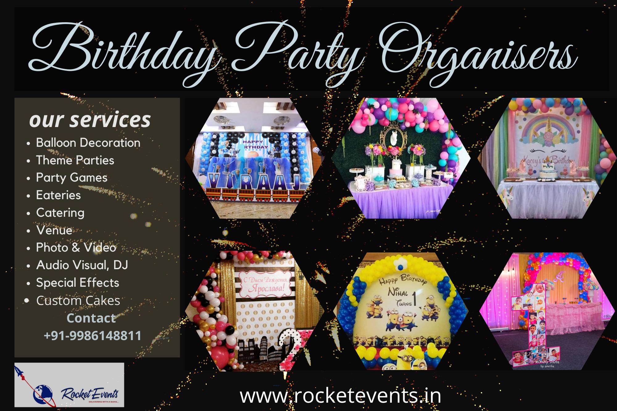 Birthday Decoration Birthday Party  Fun Games  Artist